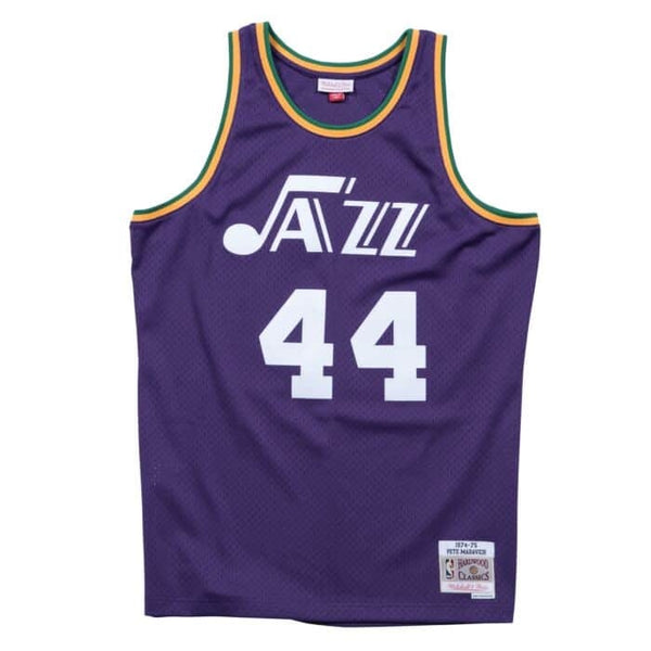 Mitchell & Ness NBA Swingman Collection Pete Maravich Jersey ('74 Jazz- Road)