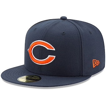 New Era Authentic 59Fifty Fitted: Chicago Bears (Navy)