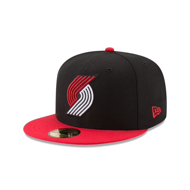 New Era Authentic 59Fifty Fitted: Portland Trailblazers