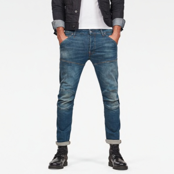 G-STAR RAW: 5620 3D SLIM Denim Jeans (MEDIUM AGED)