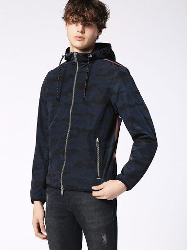 DIESEL: J-MEL JACKET (MIDNIGHT/BLUE)