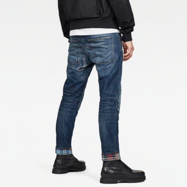 G-STAR RAW: 5620 3D STRAIGHT TAPERED DJ Denim Jeans (DK AGED WW RESTORED)