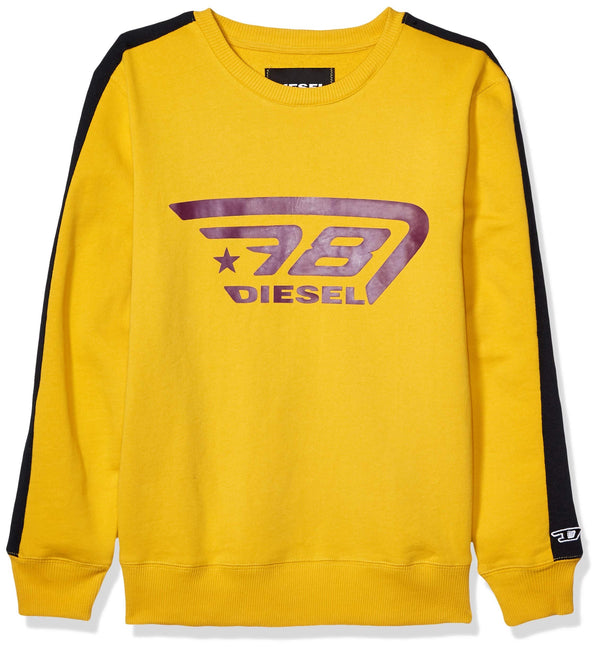 DIESEL: UMLT-WILLY SWEATSHIRT (YELLOW)