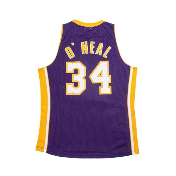 Mitchell & Ness: NBA Swingman Collection Shaquille O'Neal Jersey ('99 Lakers - Road)