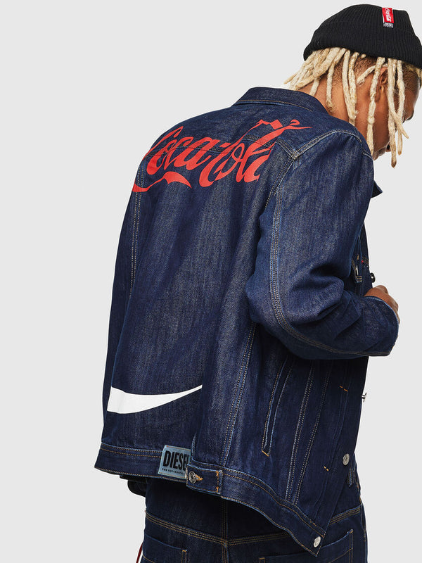 DIESEL: Coca Cola JACKET (DENIM)