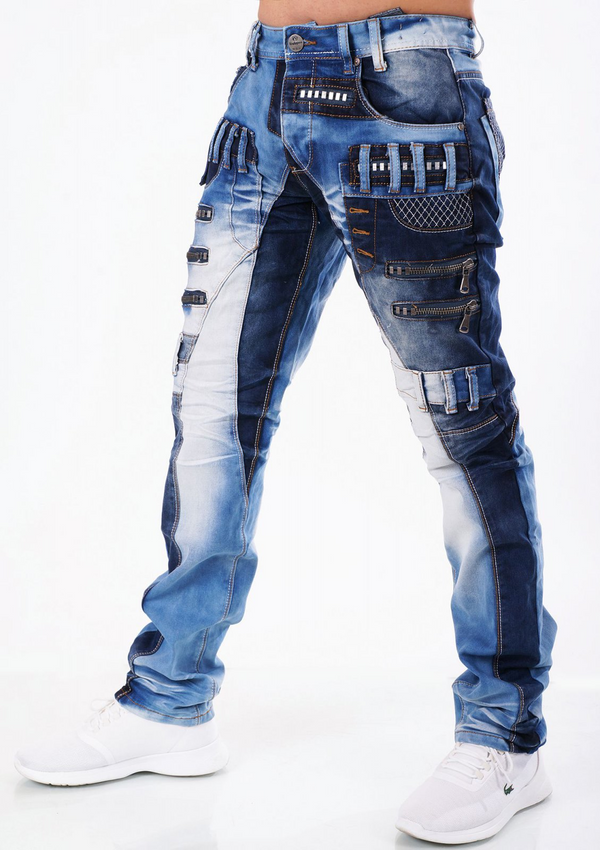 Highness: Patchwork Denim