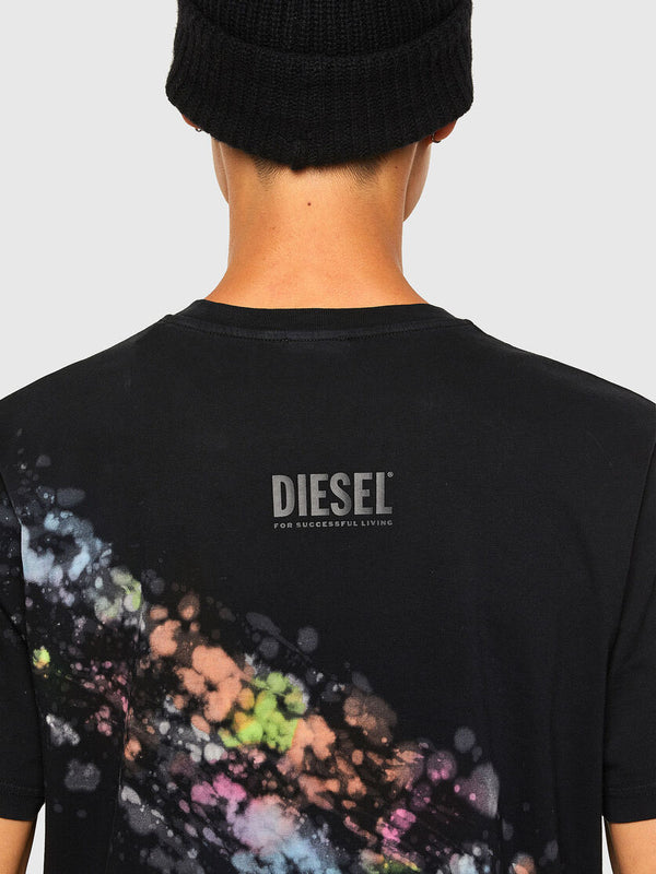DIESEL: T-JUST-A40 T-SHIRT (VERY/BLACK)