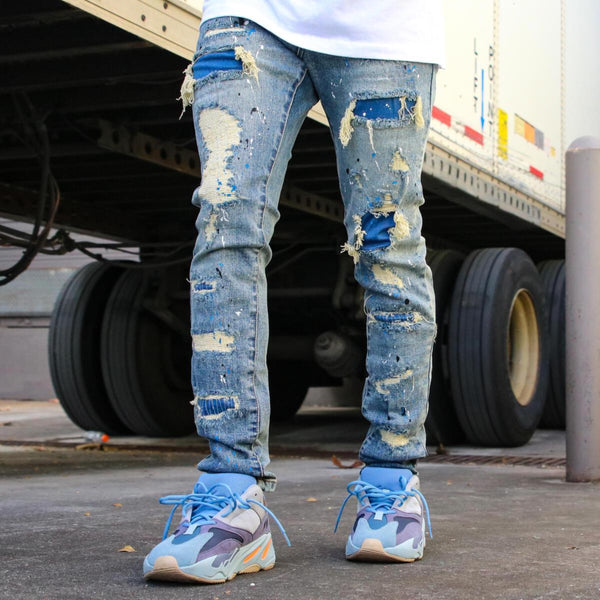 THRT: Smurf (Denim)