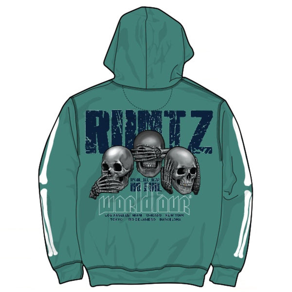RUNTZ: No Evil World Tour HOODIE (Jade)