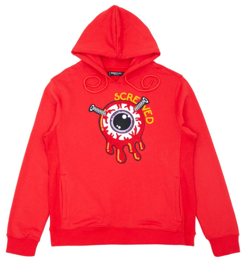 ROKU: ROKU Screwed Hoody (Red)