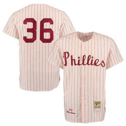 Mitchell & Ness: Authentic BP Jersey Philadelphia Phillies (Robin Roberts 1950))