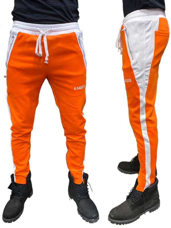 Karter Collection: Roosevelt Track Pants (Orange)