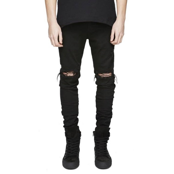 Represent: Destroyer Denim (Black)