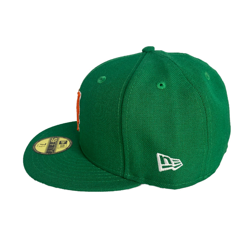 New Era Authentic 59Fifty Fitted: New York Mets (Green)