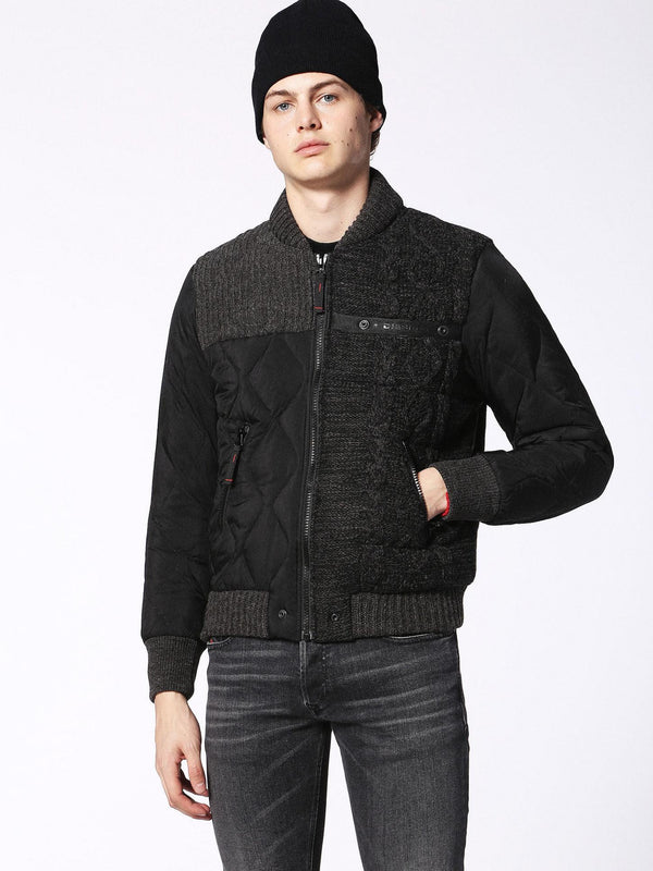 DIESEL: K-BOOMS JACKET (BLACK)