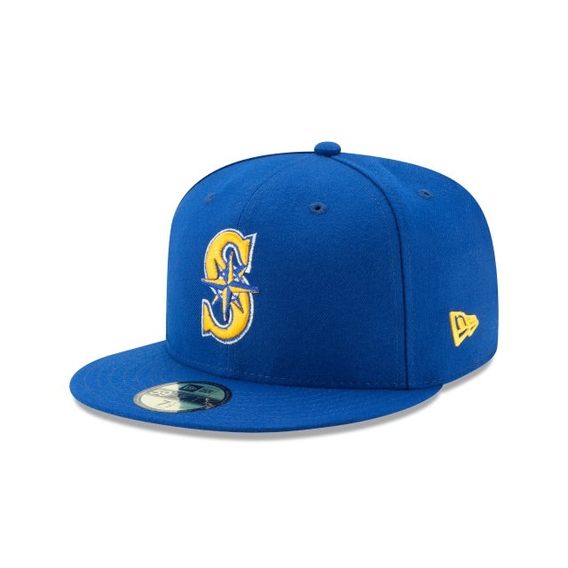 New Era Authentic 59Fifty Fitted: Seattle Mariners (Royal)