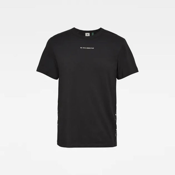 G-STAR RAW: SPORT A TAPE T-SHIRT (DK BLACK)
