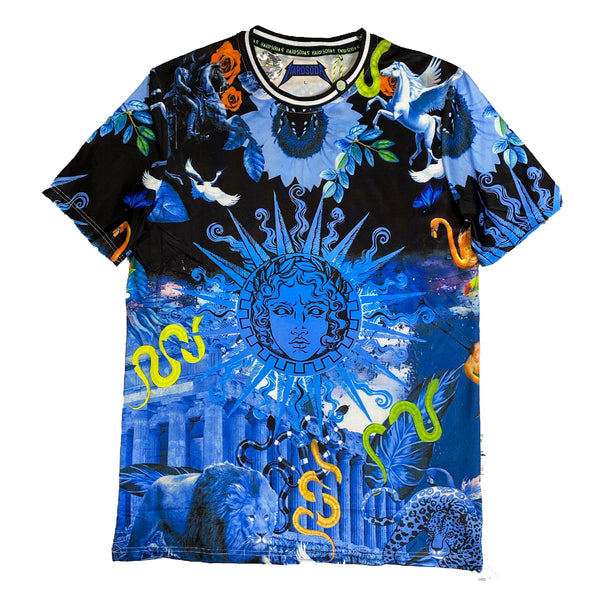 HARD SODA: Medusa Tee (Blue)