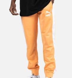 PUMA : ICONIC T7 TRACK PANTS PT (S) ( ORANGE )