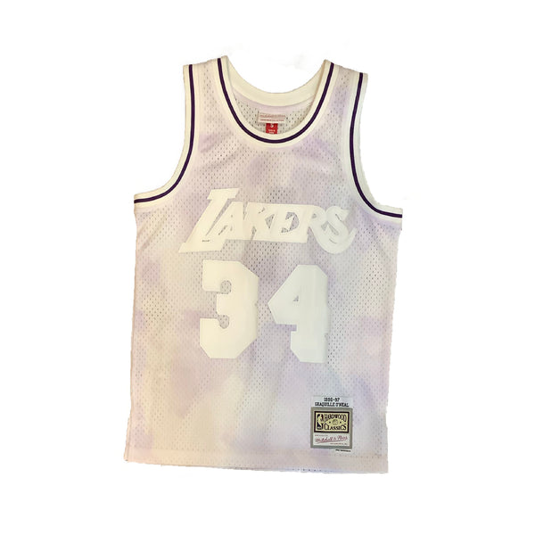 Mitchell & Ness: NBA Los Angeles Lakers Tie Die Jersey (Shaquille O'Neal)