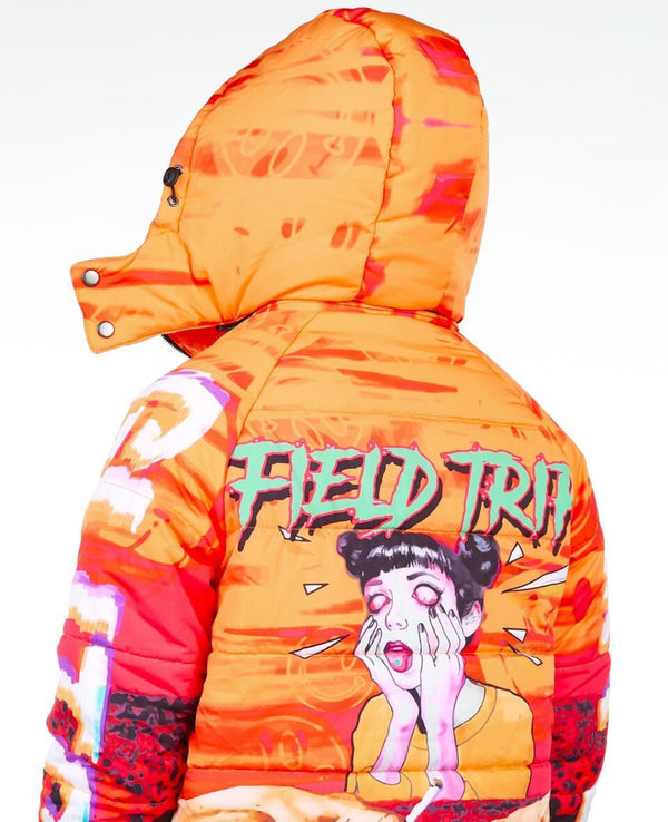 Sugar Hill: Field Trip Puffer Jacket (Ignite)