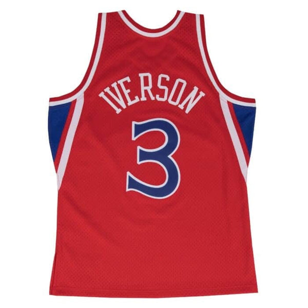 Mitchell & Ness: NBA Swingman Collection Allen Iverson Jersey ('96 Sixers - Road)