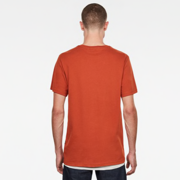 G-STAR RAW: RAW GRAPHIC T-SHIRT (Cinnamon Orange)