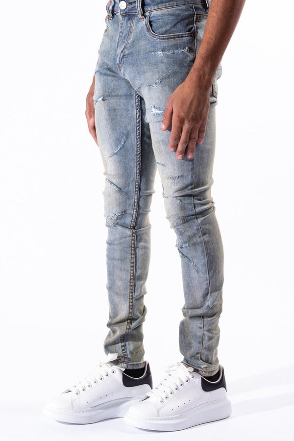 "Serenede: Serenede ""Deep Pacific"" Jeans"
