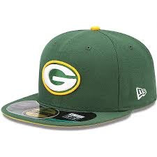 New Era Authentic 59Fifty Fitted: Green Bay Packers (Green)