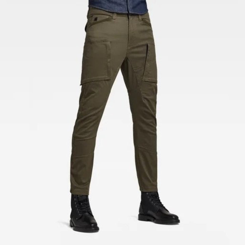 G-STAR RAW: FLIGHT CARGO 3D SKINNY (ASFALT)
