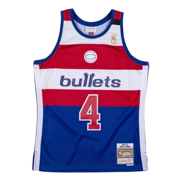 Mitchell & Ness NBA Swingman Collection Chris Webber Jersey ('96 Bullets -Alt)