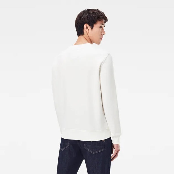 G-Star Raw: RAW SWEATER (Milk)