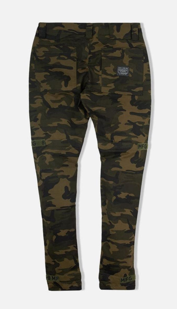 8&9: Strapped Up Vintage Utility Pants (Camo Fatigue)