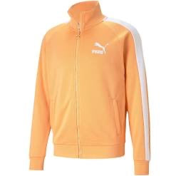 PUMA : ICONIC T7 TRACK JACKET PT (S) ( ORANGE )