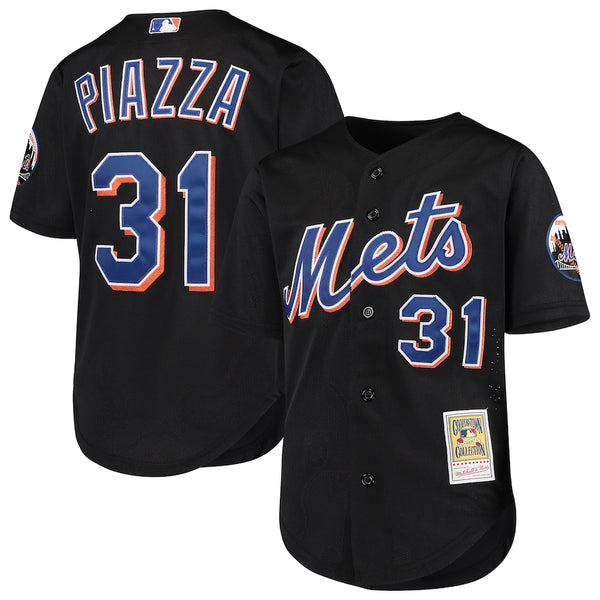 Mitchell & Ness: Authentic BP Jersey New York Mets (Mike Piazza 2000)