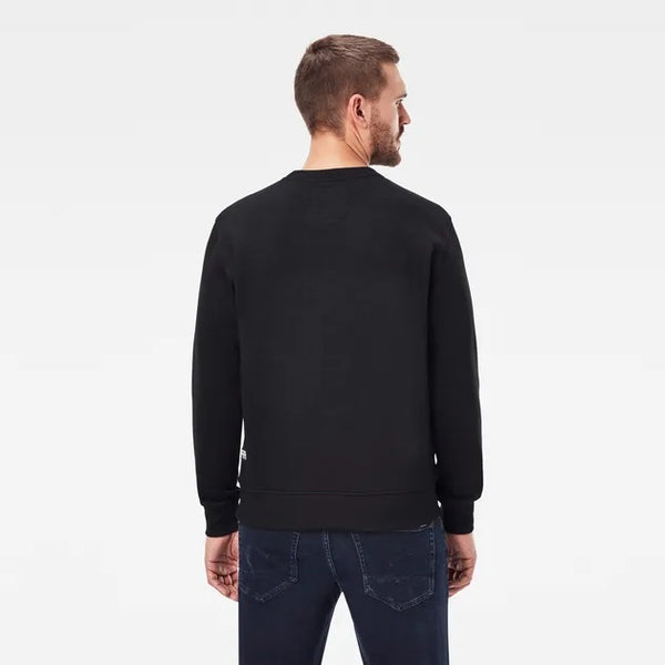 G-Star Raw: RAW SWEATER (Dark Black)