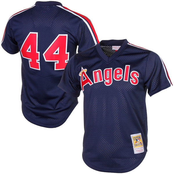 Mitchell & Ness: Authentic BP Jersey California Angels (Reggie Jackson 1984)
