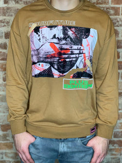 Plus Eighteen: Our Future Crewneck (Khaki)