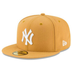 New Era Authentic 59Fifty fitted: New York Yankees (Wheat)
