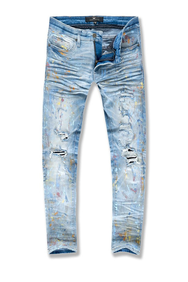 Jordan Craig: Sean Avalanche Denim (Painted Lightning Blue)