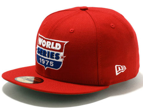 New Era Authentic 59Fifty Fitted: Reds 1975 World Series (Red, White and Blue)
