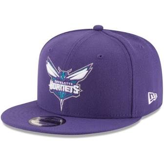 New Era Authentic 59Fifty SnapBack : Charlotte Hornets (Purple)