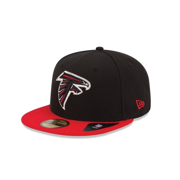 New Era Authentic 59Fifty Fitted: Atlanta Falcons (Black/Red)