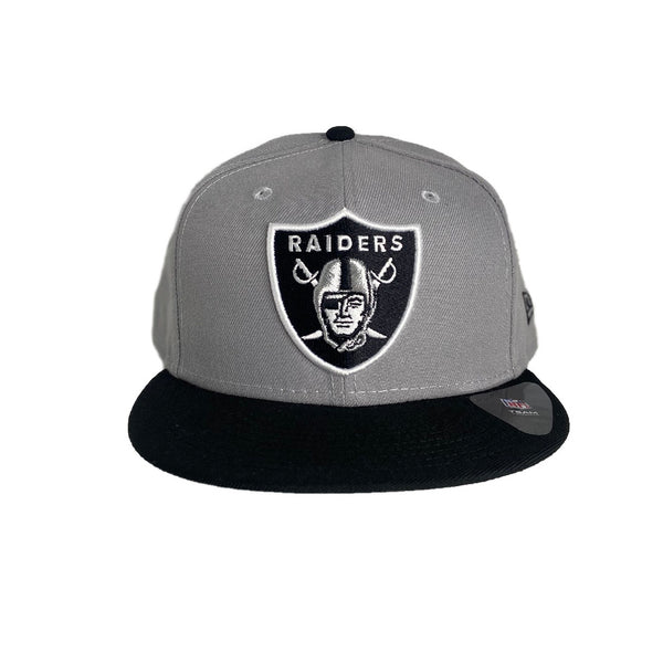 New Era Authentic 59Fifty Fitted: Oakland Raiders (Grey/Black)