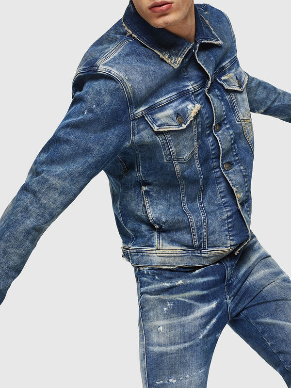 DIESEL: NHILL DENIM JACKET