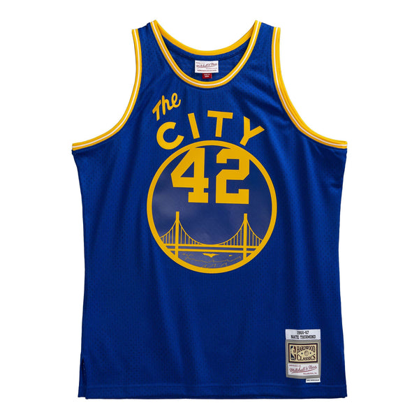 Mitchell & Ness NBA Swingman Collection Nate Thurmond Jersey ('66 Warriors-Road)