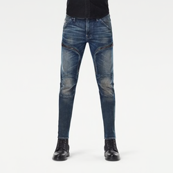 G-STAR RAW: AIR DEFENCE ZIP SKINNY (ANTIC NEBULAS)