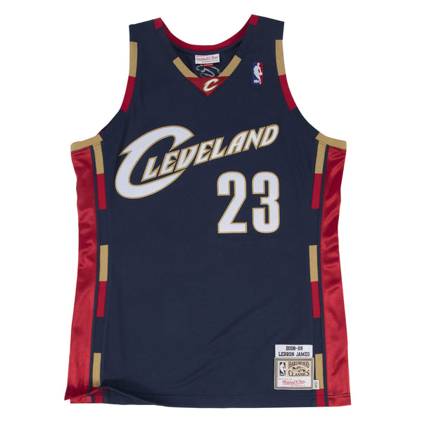 Mitchell & Ness NBA Swingman Collection Lebron James Jersey ('08 Cavs - Alt)