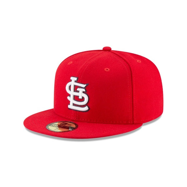 New Era Authentic 59Fifty Fitted: St. Louis Cardinals (Red)