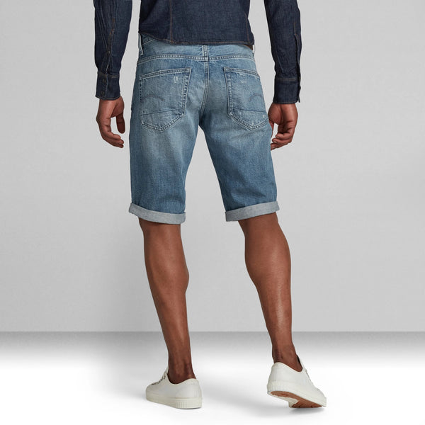 G-STAR RAW: 3301 SHORTS (Sun Faded Ice Fog)